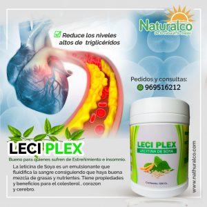 LECI PLEX, Para El Colesterol y Trigliceridos